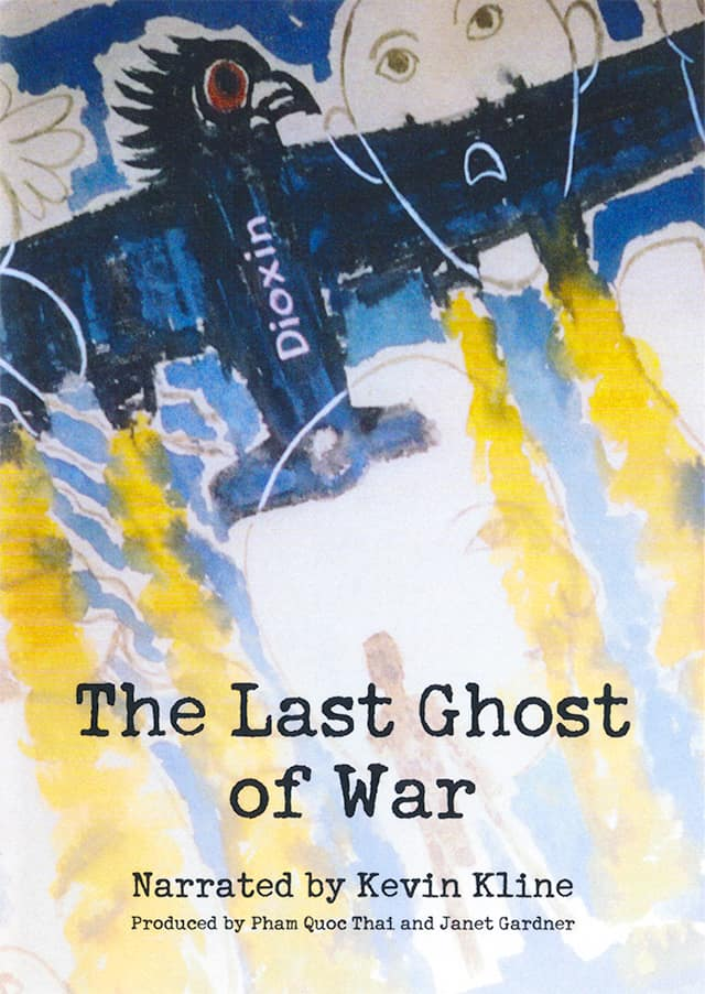 Cover image for The Last Ghost of War, narrated by Kevin Kline, produced by Pham Quoc Thai and Janey Gardner