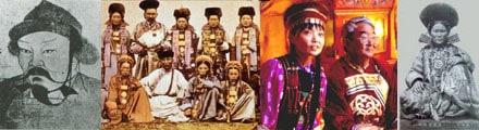 The Buryats, a nomadic Mongolian tribe